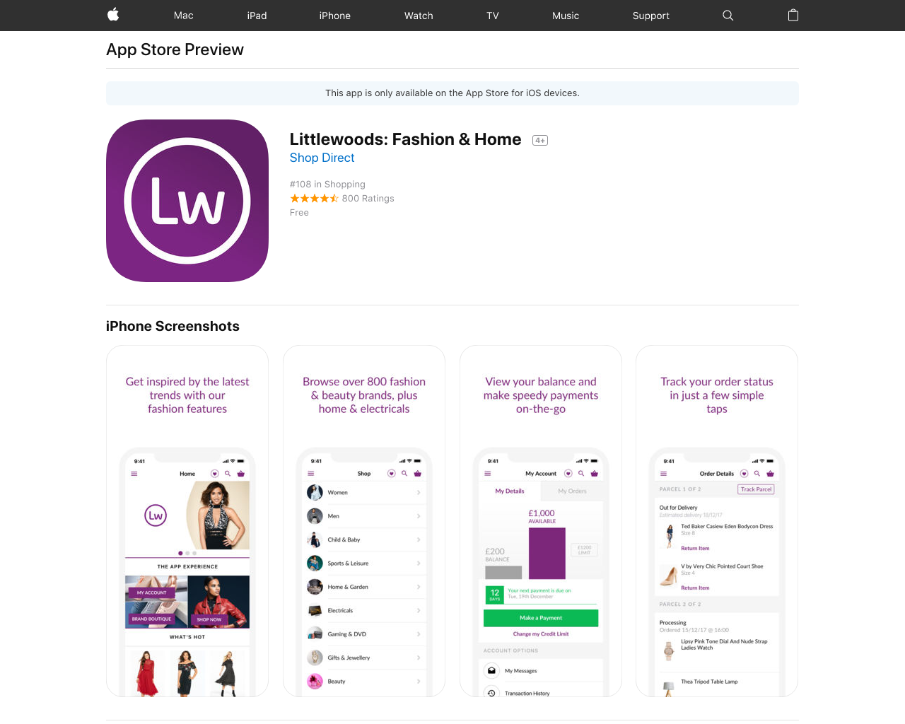 Littlewoods Shopping - Buy Clothes, Beauty & Shoes